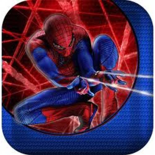 Spiderman plates