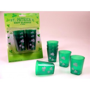 St Patricks Day Shot Glasses