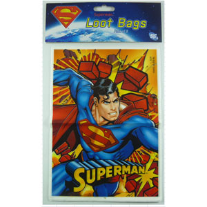 Superman loot bags
