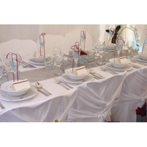 Table Setting - Silver Runner