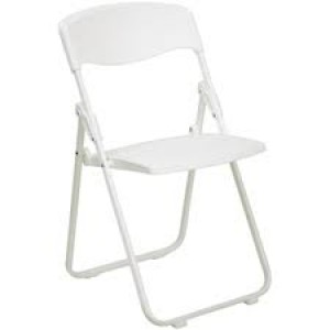 Chair Hire, Folding White