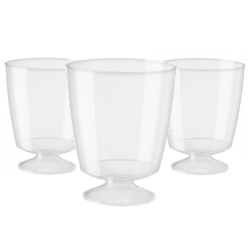 Plastic Wine Goblets