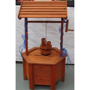 Wishing Well - Wood