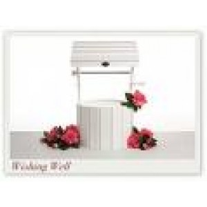 Wishing Well - White Wood (large)