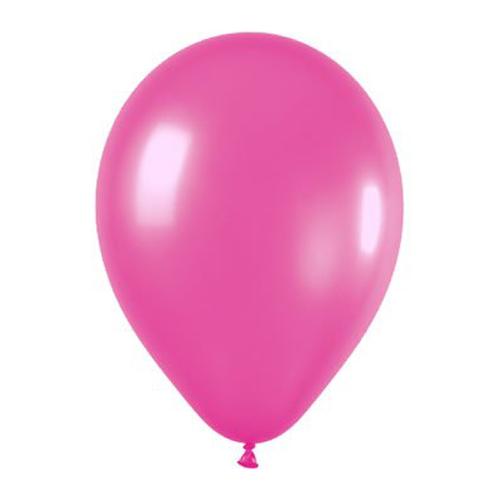 Balloons Metallic Pink Balloons