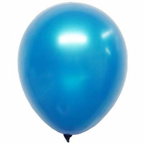 Metallic Blue Party Balloons