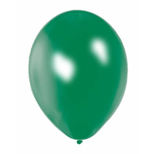 Metallic Green Party Balloons