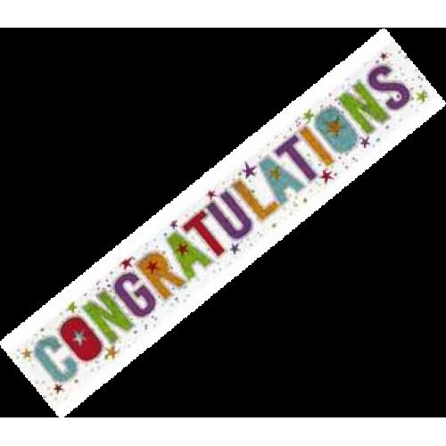 Banners Congratulations Banner