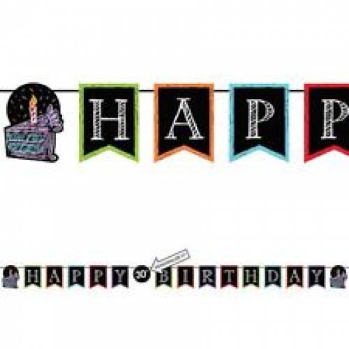 Bunting Banner - Personalised Happy Birthday