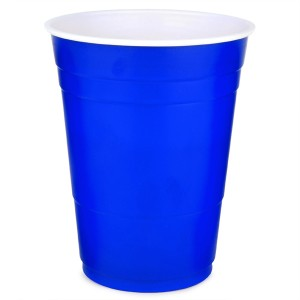 Blue Plastic Cups 25pk - Solo