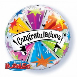 Bubble Balloon Congratulations
