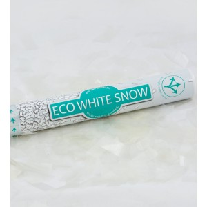 Confetti Cannon Eco - White