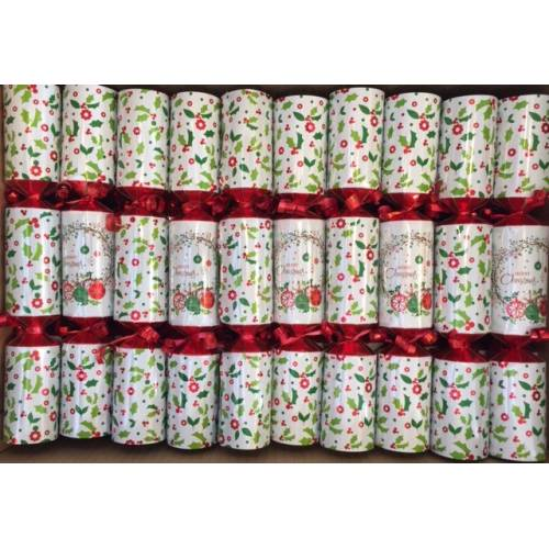 Christmas Cracker Single - White Holly