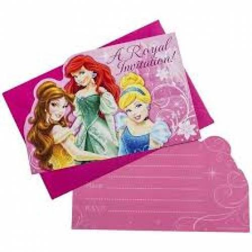 Disney Princess Invites