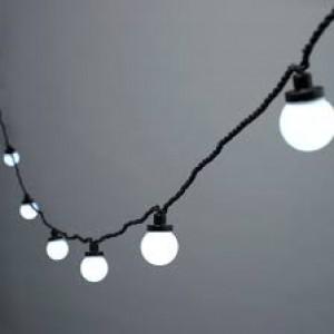 Festoon Lights 11m White