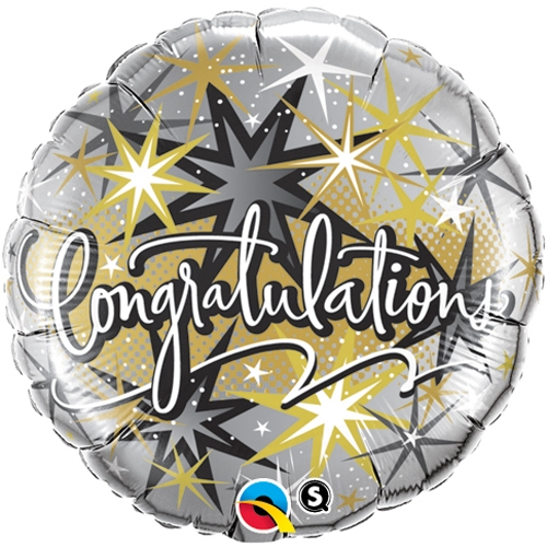 Foil Balloon Congratulations