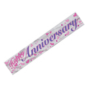 Banners Happy Anniversary Banner