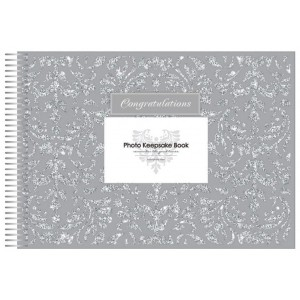 Keepsake Book Congratulations Silver