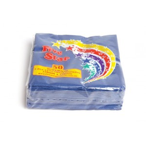Lunch Napkins 50pk - Blue