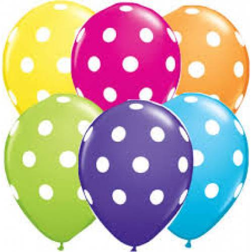Balloon Single Polka Dot