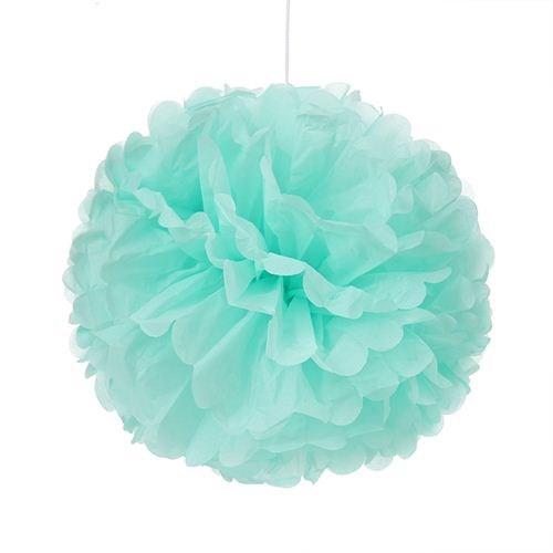 Tissue Paper Pom Pom - Mint
