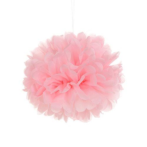 Tissue Paper Pom Pom - Pale Pink