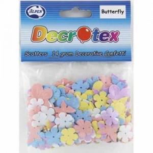 Scatters Butterflies & Flowers Pastel