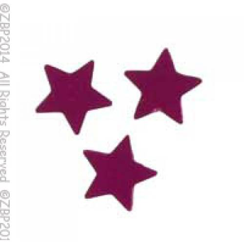 Scatter Confetti Star Small Fuchsia
