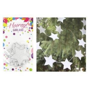Glitter Star Garland 2m