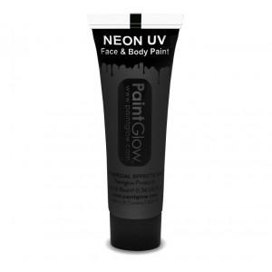 UV Face & Body Paint 10ml - Black