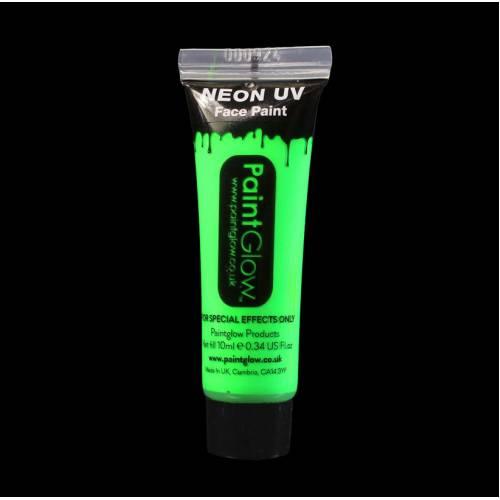 UV Face & Body Paint 10ml - Neon Green