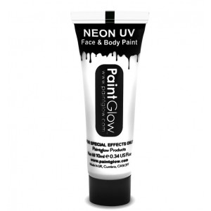 UV Face & Body Paint 10ml - Neon Blue