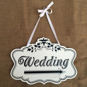 Wedding Sign - Wooden