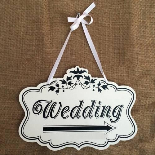 Wedding Sign - Wooden