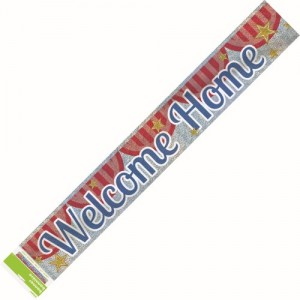 party banner welcome home