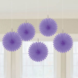 Purple Fans - 5 pack
