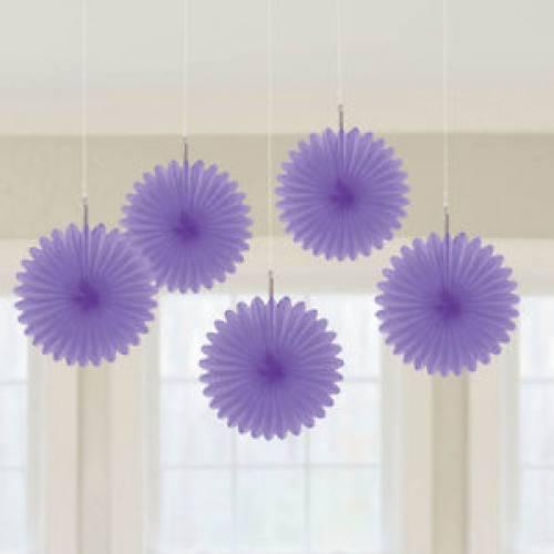 Purple Fans - 5 pack