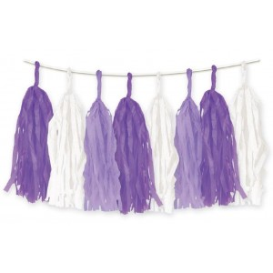 Tassel Garland Purple
