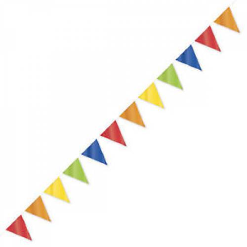 Large Outdoor Bunting Flag Banner 10mtrs