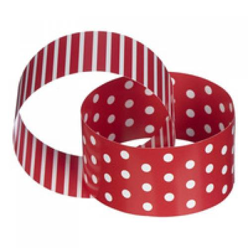 Red & White Paper Chain 3mtrs