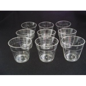 Plastic Shot Glasses / Sample Glass