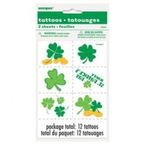 St. Patricks Temporary Tattoos