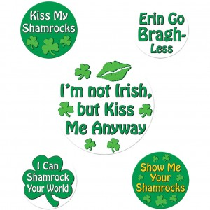 St. Patricks Party Buttons