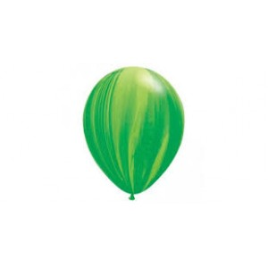 Balloon Single Green Marble