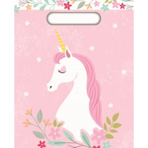 Unicorn Party Loot Bags 8pk