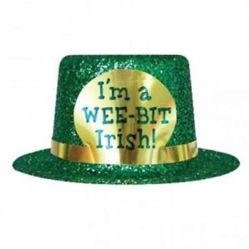 St. Patricks Mini Hat - I'm a Wee-bit Irish