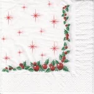 Christmas Napkins 100pk