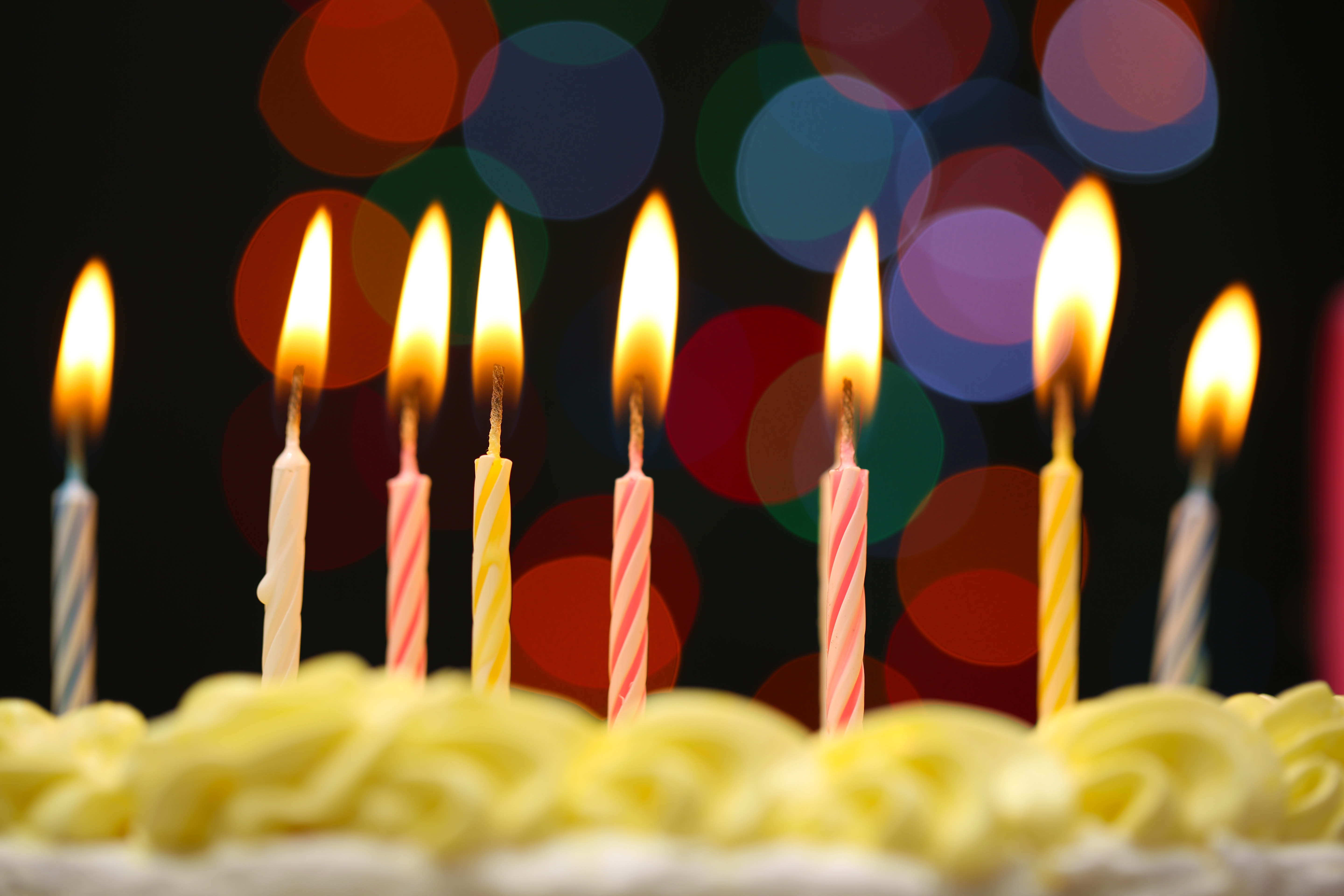 Birthday Candles Buy Party Cake Online