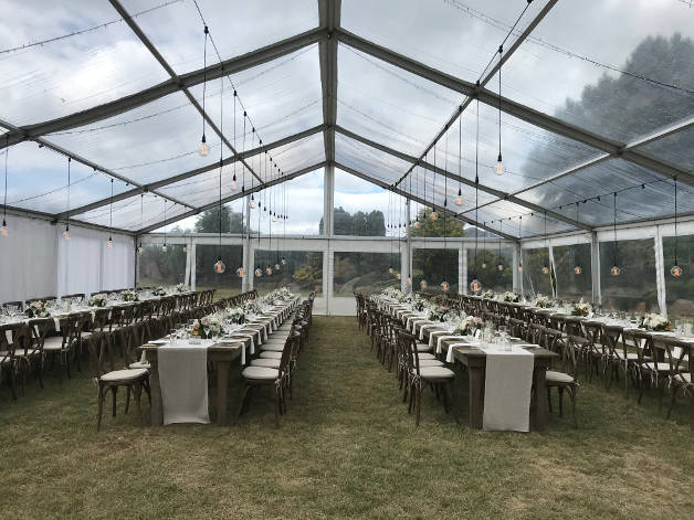 Clear Marquee Hire | Marquee Hire Christchurch | Party Warehouse