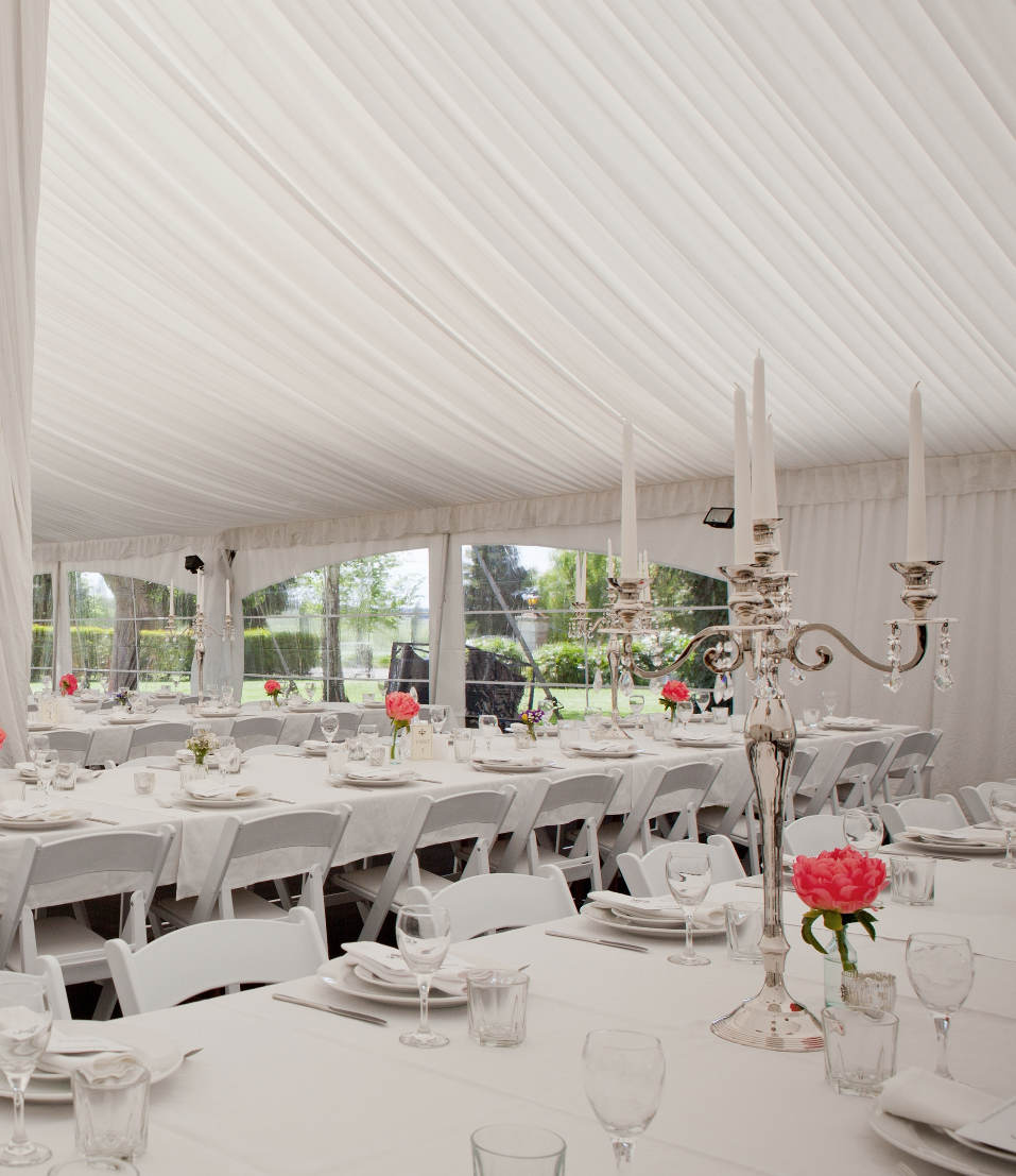 Marquee Wedding in Timaru, New Zealand